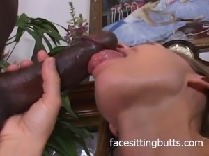 Horny mommy loves her black friend