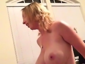 Busty fat blonde experiencing cock experience passionately