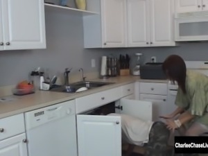 Hot Wife Charlee Chase Fucks Her Plumber!
