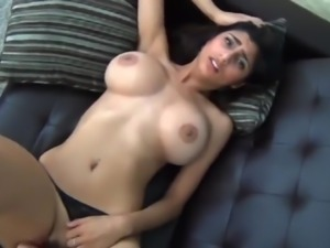 Indian Girl with big natural tits fucked in missionary