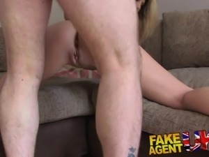 FakeAgentUK Orgasms anal sex and squirting in interview