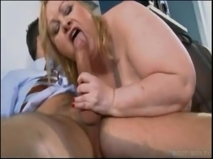 BBW Brit Wants Cum On Her Big Fat Tits