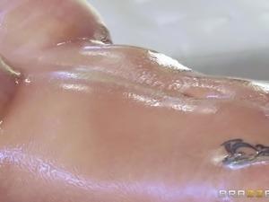 big tits lady jensen fucked hard by masseur