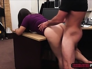 Two naughty sluts fuck in one shot