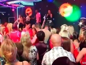 Secret party with the city's cock-loving senoritas