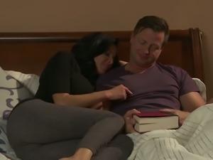Tempestuous MILF with huge boobs enjoys sixty nine sex pose