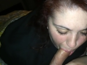 Wife blowing me again