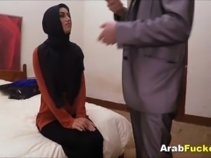 Big White Cock For Muslim Arab Girl