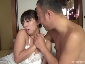 It's time for her Japanese pussy to experience the true drilling!