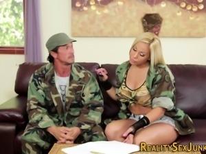 Real pornstar soldier