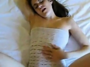 Adorable girlfriend moans from sex that is great