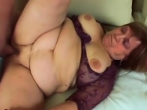 Chubby Granny Dominika Bbw Fucking Young Rod