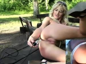 Blonde Babe Raven Puts Her Webcam