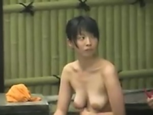 Adorable Japanese babes get fully naked and expose their sw