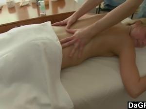 Best Massage Of Her Life