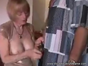 Mommy Rides Her Sons Tongue