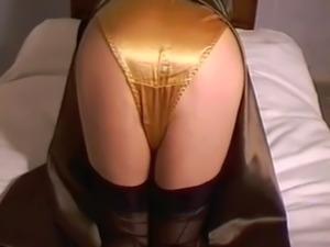 Satin Dress & Panties