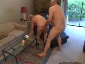 Big Tit Anal Blonde MILF Gets Butt Fucked