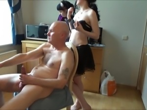 Ulf Larsen peeing, flashing, wanking & eating sperm