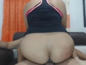 Hot Latinas Sharing a Ride on a Hard Dick
