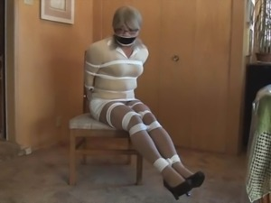 Bettie cho tied and gagged 2