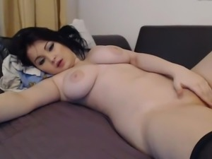 Cute Asian With Big Tits On Slutroulette.Org