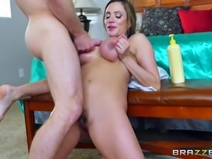 Ariella is easily seduced and is now ready for the double penetration