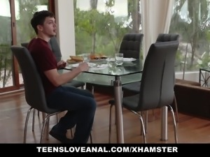 TeensLoveAnal - Prankwar Turns Into Anal Fucking
