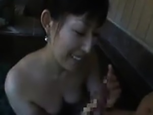 Perky breasted Asian cutie with a spicy ass fulfills her ne