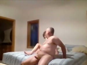 wife riding cock on Hidden Cam