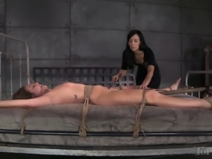 Poor Maddy O'Reilly can't believe what her mistress is doing to her!