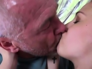 Old german threesome and old latina granny anal Emily Rose n