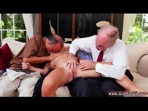 Old men dp xxx Frankie And The Gang Tag Team A Door To Door Saleswoman