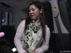 Asian lady with a big pair of tits and the vibrations of her dreams