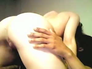 Pale girlfriend riding my dick in a cowgirl position