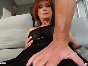 Nina S hot milf being fucked on mature milf gonzo porn site