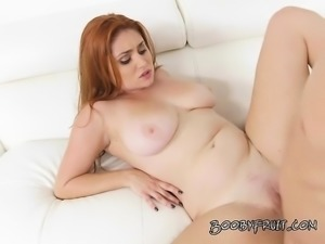 Redhead Hottie Lennox Luxe Gets Dicked Down