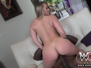 Sexy Aj Applegate gets nailed by a big black cock
