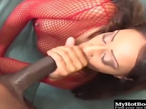 Her name is Amerika and she's the best ebony cock-rider in the country
