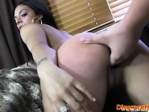 Facialized babe humiliated and fucked