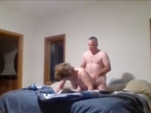 wife doggystyle OnBed Hidden Cam