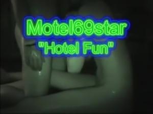 Green Sweater MILF Having Fun in Hotel!