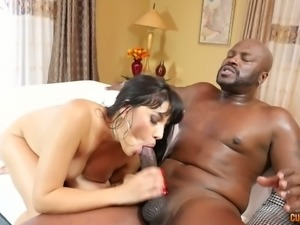 The lust and pleasure Mercedes Carrera gets from her BF's BBC is amazing