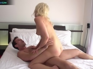 Adorable Anikka Albrite hardcore sex and cumshot