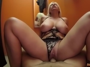 Nasty mature slut riding big cock in dirty fuck video