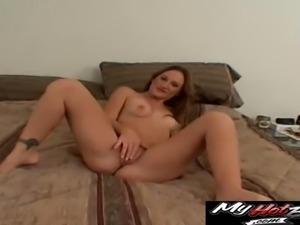 Horny girl is in need of her hot man's fat love tool
