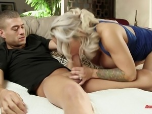Skillful mature chick is great at bouncing on a hunk's boner