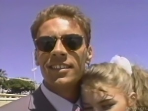 Rocco Siffredi licks Sunny Mckay's pussy with love and devotion