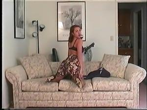 Nina's Lingerie Striptease