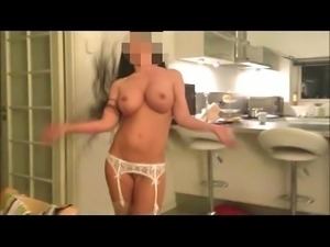 Busty boozed stripdancing amature wife 1